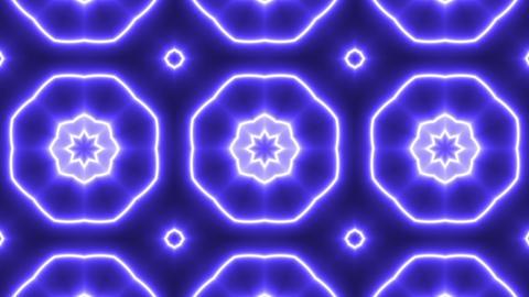 Purple Ornament Kaleidoscope Footage