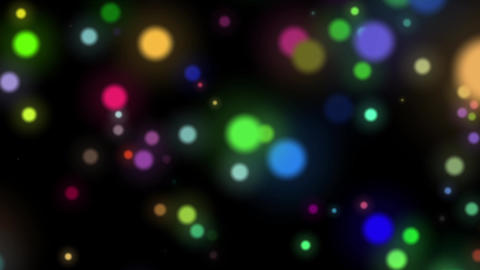 Slow Cluster Dark Dynamic Particles Cluster Abstract Motion Background Loop Animation