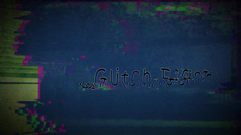 Monitor Glitch After Effects Template