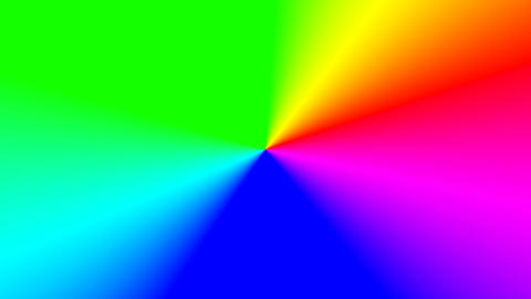 Colorful rainbow abstract pattern texture, optical illusion. Multi-Colored Footage