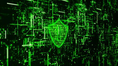 Hi-Tech digital cyber security 00189 Animation