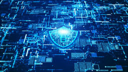 Hi-Tech digital cyber security 00192 Animation