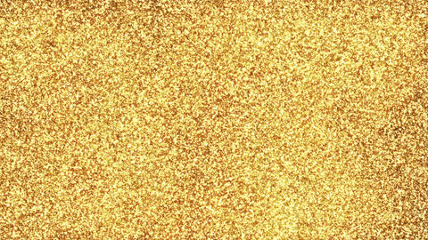 Gold Particle Background Loop Stock Video Footage