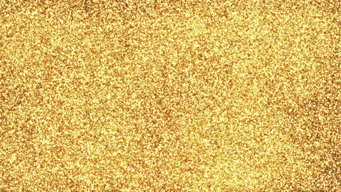 Gold Particle Background Loop Animation