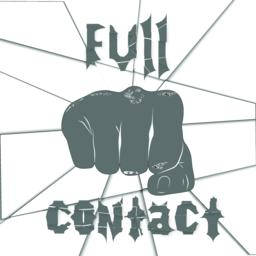Martial arts, full contact Vector