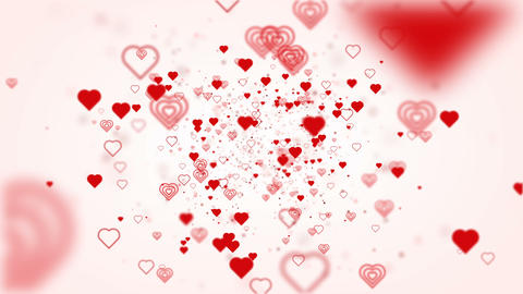 Valentine concept Animación