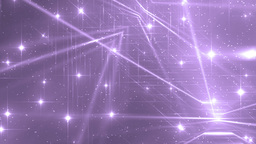 Floodlights Disco Violet Background Animation