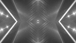 VJ Fractal silver kaleidoscopic background Animation