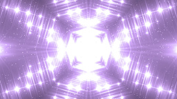 VJ Fractal violet kaleidoscopic background Animation