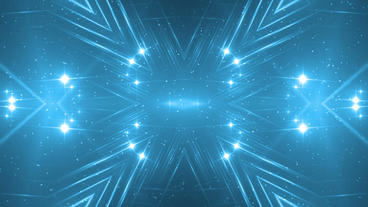 VJ Fractal blue kaleidoscopic background Animation