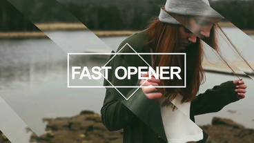 Fast Opener After Effects Project