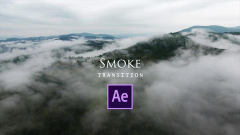 Smoke Transitions Plantilla de After Effects