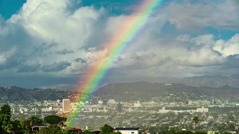 West Hollywood Rainbow Time-lapse ビデオ
