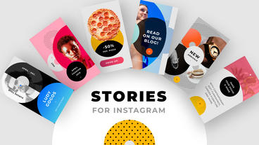Instagram Stories Pack no. 1 After Effects Template