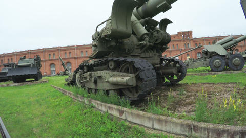 Artillery Museum and exhibits Footage