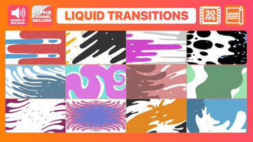 Liquid Motion Transitions Premiere Pro Template
