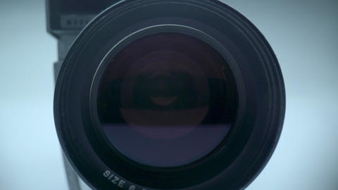 Vintage Camera and Lens Footage