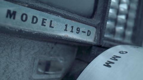 Vintage Model 8mm Camera Footage