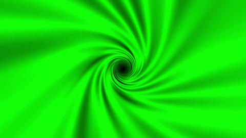Fast Psychedelic Green Spiral Warp Effect VJ Abstract Motion Background 1 Animation