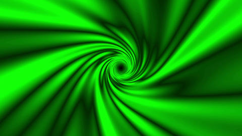 Fast Psychedelic Green Spiral Warp Effect VJ Abstract Motion Background 2 Animation