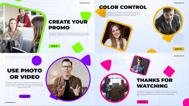 Fresh Color Corporate After Effects Template