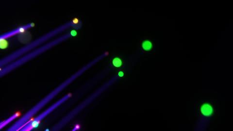 3D Optical Fiber, Stock Animation
