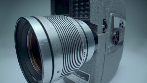 Vintage Revere 8mm Camera Body Footage
