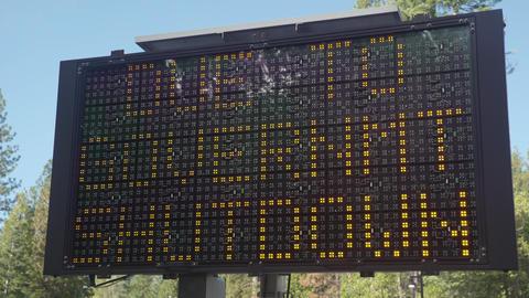 No Services Gov't Shutdown Sign Footage