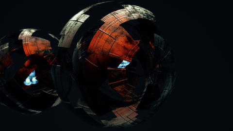 Abstract Spheres Version 2 Animation