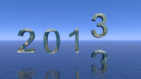 happy 2013 Stock Video Footage