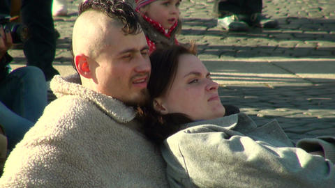 A couple in love Stock Video Footage