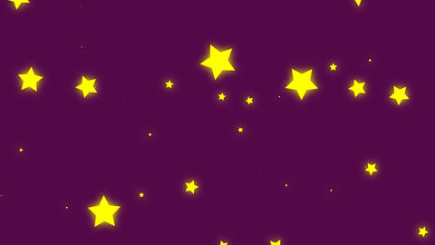 HD Looping Star Animation Stock Video Footage