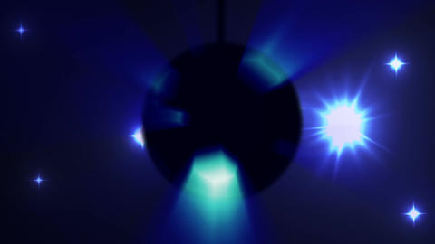 Disco Ball Lights Animation