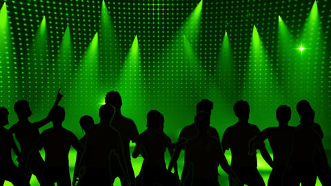 Disco Stage Dancers 11 Animation