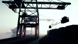 Industrial Port 3 Stock Video Footage
