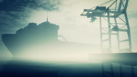 Industrial Port 5 Stock Video Footage