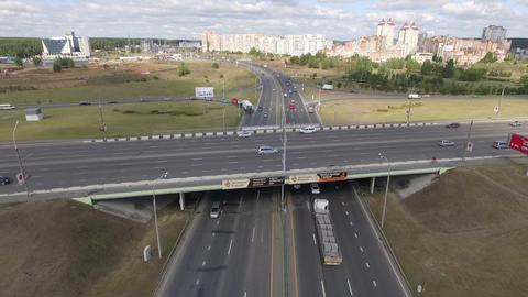 Highway Overpass 3 Footage