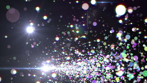 Lens Flares and Particles 16 A3f 4k CG動画