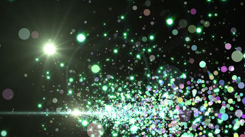 Lens Flares and Particles 16 F3f 4k Animation