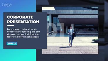 Corporate Presentation 애프터 이펙트 템플릿