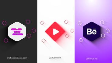 Minimal Logo Reveal After Effects Template