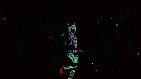 Light show single dance Footage