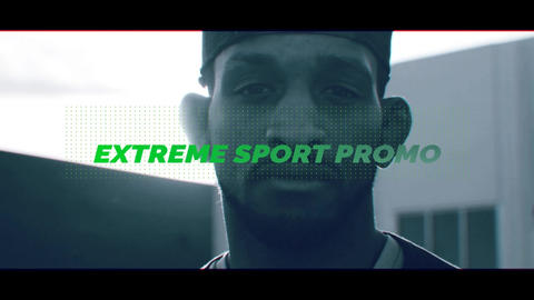 Extreme Sport - Sport Promo After Effectsテンプレート