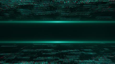 High-Tech Grid Flow Loop Stock Video Footage