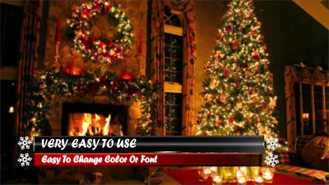 New Year and Cristmas Lower Thirds After Effects Template