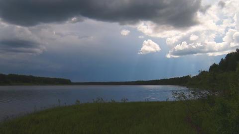 Blue Lake before the rain 영상물
