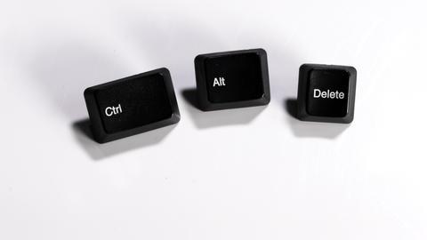 Focus to ctrl, alt. delete computer keypads GIF