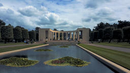 American Military Cemetery, Omaha Beach, Colleville-sur-Mer, Normandy, France - 영상물