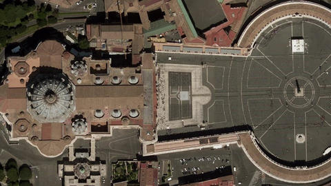 Earth Zoom In Zoom Out Vatican City Live Action