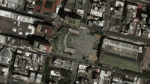 Earth Zoom In Zoom Out Caracas Venezuela Live Action